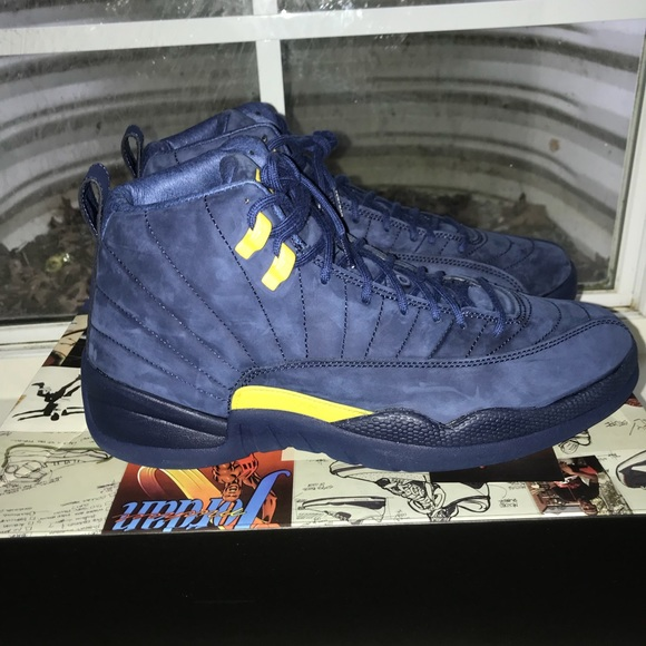 michigan jordan 11 shoes